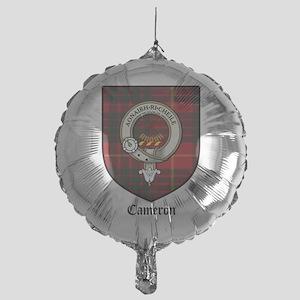 Cameron Clan Crest Tartan Mylar Balloon