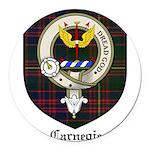 CarnegieCBT.jpg Round Car Magnet