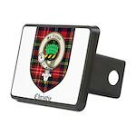 Christie Clan Badge Tartan Rectangular Hitch Cover