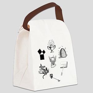 Master Mason Emblems No. 1 Canvas Lunch Bag