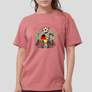 Deutschland Soccer Womens Comfort Colors Shirt