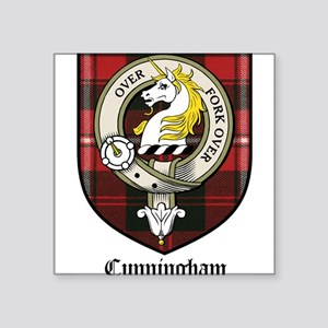 "CunninghamCBT Square Sticker 3"" x 3"""