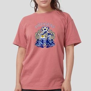 Uruguay Soccer Womens Comfort Colors Shirt