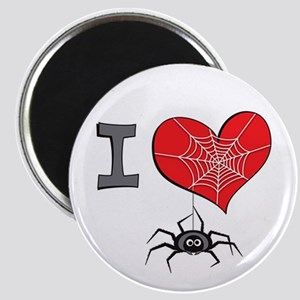 I heart spiders Magnet