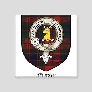 "FraserCBT Square Sticker 3"" x 3"""