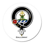 Galloway Round Car Magnet