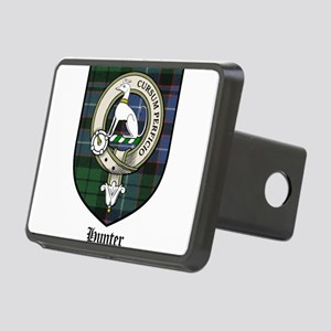 Hunter Clan Crest Tartan Rectangular Hitch Cover