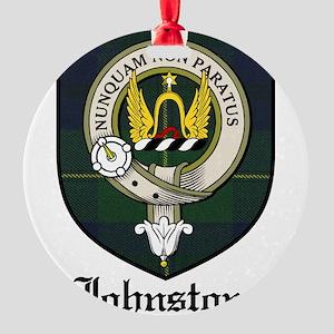 JohnstoneCBT Round Ornament