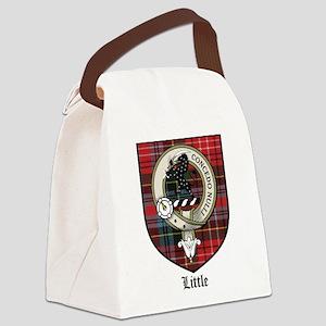 Little Clan Crest Tartan Canvas Lunch Bag