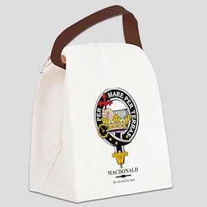 MacDonald_clan Canvas Lunch Bag