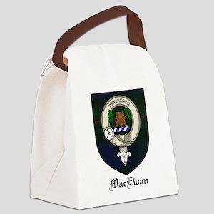 MacEwan Clan Crest Tartan Canvas Lunch Bag