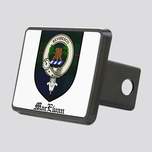 MacEwan Clan Crest Tartan Rectangular Hitch Cover
