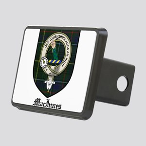 MacInnes Clan Crest Tartan Rectangular Hitch Cover