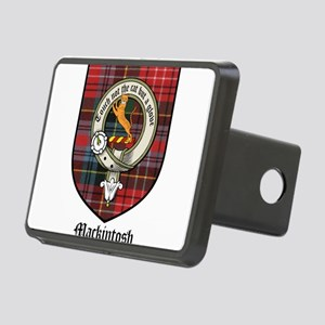 Mackintosh Clan Crest Tartan Rectangular Hitch Cov