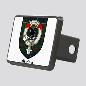 Macleod Clan Crest Tartan Rectangular Hitch Cover