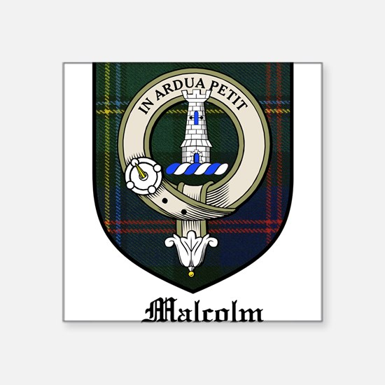 "MalcolmCBT.jpg Square Sticker 3"" x 3"""