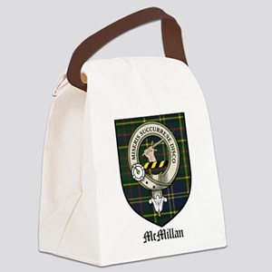 McMillan Clan Crest Tartan Canvas Lunch Bag