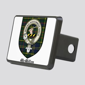 McMillan Clan Crest Tartan Rectangular Hitch Cover