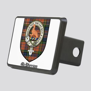 McPherson Clan Crest Tartan Rectangular Hitch Cove