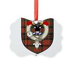 McTigue Clan Crest Tartan Picture Ornament