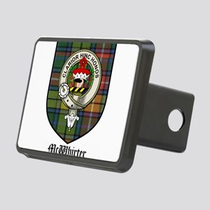 McWhirter Clan Crest Tartan Rectangular Hitch Cove
