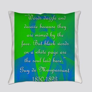 Words Dazzle And Deceive - de Maupassant Everyday