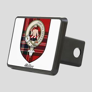 Miller Clan Crest Tartan Rectangular Hitch Cover