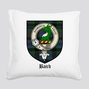 Nesbitt Clan Crest Tartan Square Canvas Pillow