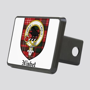 Nisbet Clan Crest Tartan Rectangular Hitch Cover