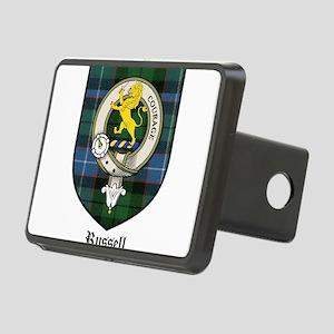 Russell Clan Crest Tartan Rectangular Hitch Cover