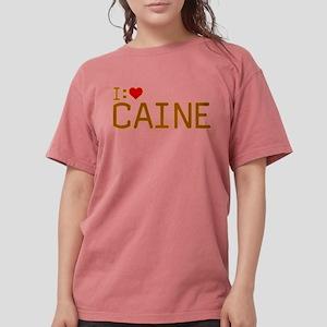 I Heart Caine Womens Comfort Colors Shirt