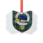 Wier Clan Crest Tartan Picture Ornament