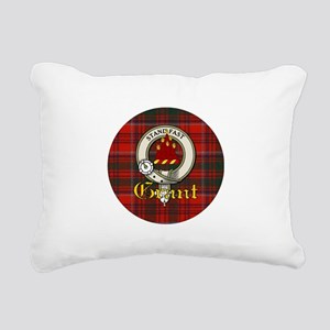 grant-clan Rectangular Canvas Pillow