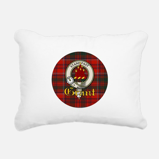 grant-clan.jpg Rectangular Canvas Pillow