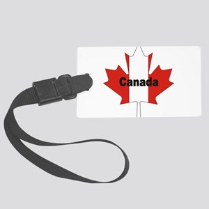 3-Canada-Leaf Large Luggage Tag
