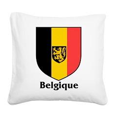Belgique.jpg Square Canvas Pillow