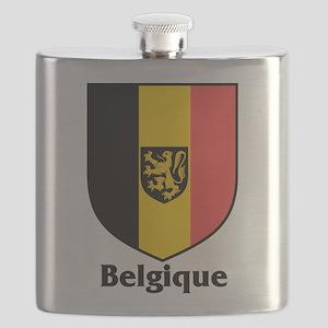 Belgique Flask