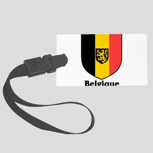 Belgique Large Luggage Tag
