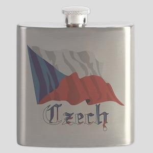 czech-wavy Flask