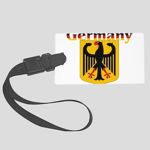 germany1 Large Luggage Tag
