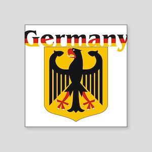 "germany1 Square Sticker 3"" x 3"""