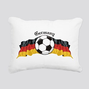 GermanySoccer Rectangular Canvas Pillow