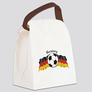 GermanySoccer Canvas Lunch Bag