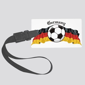GermanySoccer Large Luggage Tag