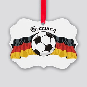 GermanySoccer Picture Ornament