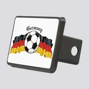GermanySoccer Rectangular Hitch Cover