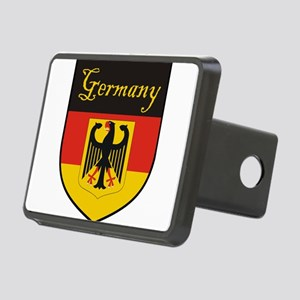 Germany Flag Crest Shield Rectangular Hitch Cover