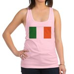 Irish Flag / Ireland Flag Racerback Tank Top