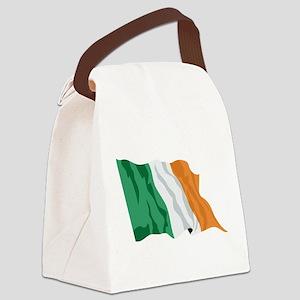 Irish Flag / Ireland Flag Canvas Lunch Bag