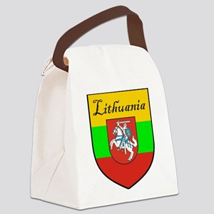 Lithuania-transp Canvas Lunch Bag
